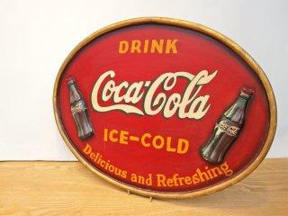 コカ・コーラ Coca-Cola 木製看板 ウッドサイン ビンテージ ◎