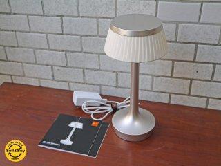 フロス FLOS ボンジュール アンプラグド BON JOUR UNPLUGGED フィリップ・スタルク テーブルランプ コードレス照明 ソフトシェード×マットクローム イタリア ■