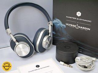 マスターアンドダイナミック MASTER&DYNAMIC ワイヤレス ヘッドフォン MW60 密閉型 ネイビー×シルバー アメリカ NY 未使用品 ■