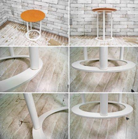 アルフレックス arflex ウビ uvi サイドテーブル 木製天板 ラウラ・グリツィオッティ ●