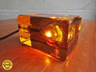 デザインハウス ストックホルム DESIGN HOUSE stockholm ブロックランプ BLOCK LAMP Lサイズ ハッリ・コスキネン アンバー 箱付き ♪