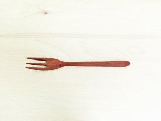 三谷龍二 木製 パスタフォーク 18.5cm 現代作家 B ●
