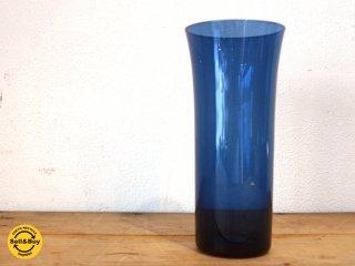 ヌータヤルヴィ Nuutajarvi #1725 タンブラー tumbler ガラス インディゴ カイ・フランク Kaj Franck ★