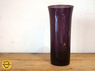 ヌータヤルヴィ Nuutajarvi #1725 タンブラー tumbler ガラス パープル カイ・フランク Kaj Franck B ★