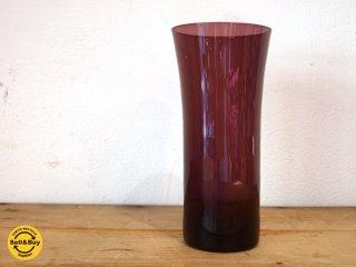 ヌータヤルヴィ Nuutajarvi #1725 タンブラー tumbler ガラス パープル カイ・フランク Kaj Franck C ★