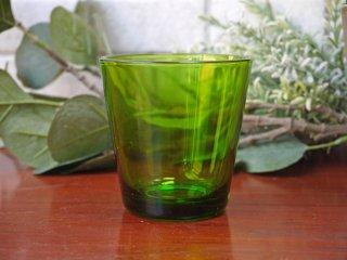 ヌータヤルヴィ Nuutajarvi カイ・フランク Kaj Franck #5027 ライトグリーン タンブラー グラス ビンテージ ■