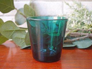 ヌータヤルヴィ Nuutajarvi カイ・フランク Kaj Franck #5027 ターコイズ タンブラー グラス ビンテージ ■