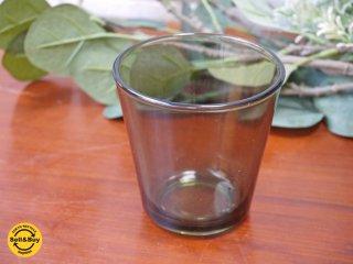ヌータヤルヴィ Nuutajarvi カイ・フランク Kaj Franck #5027 グレー タンブラー グラス ビンテージ ■