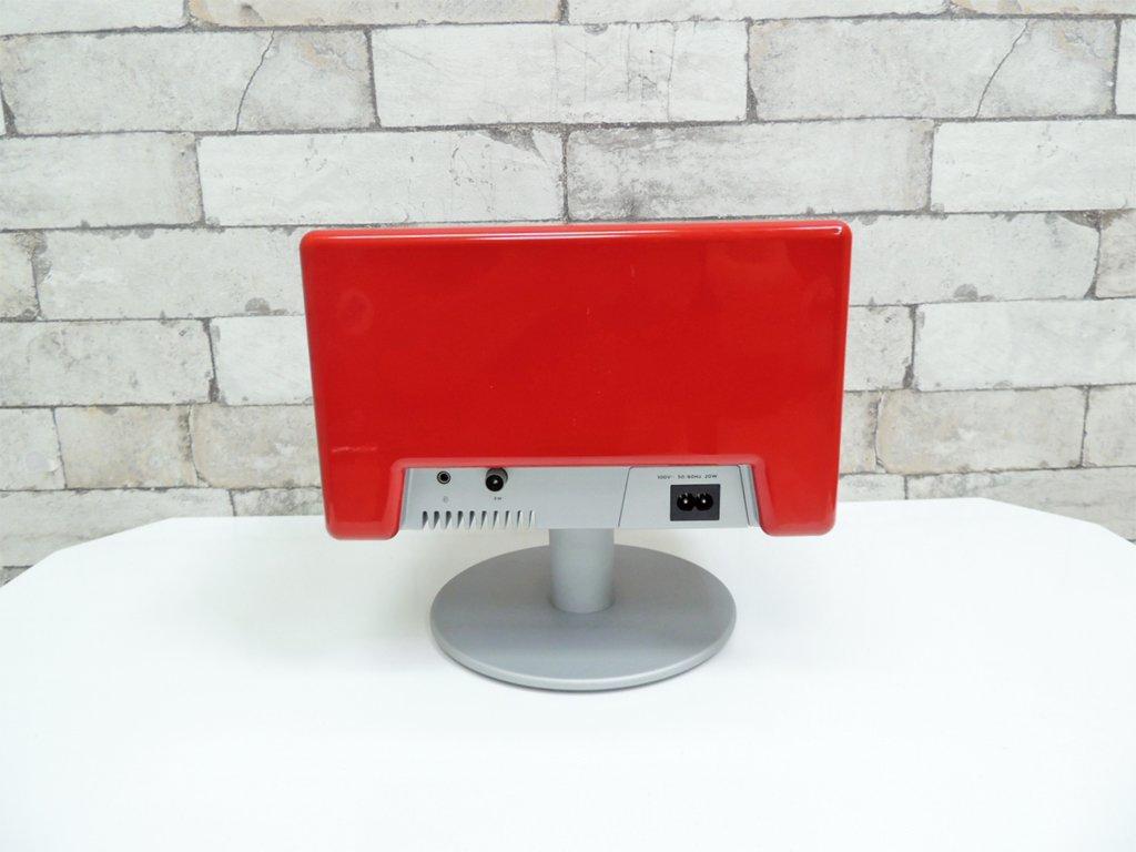 ジェネーバ GENEVA サウンドシステム モデル S SOUND SYSTEM MODEL S スピーカー レッド ●