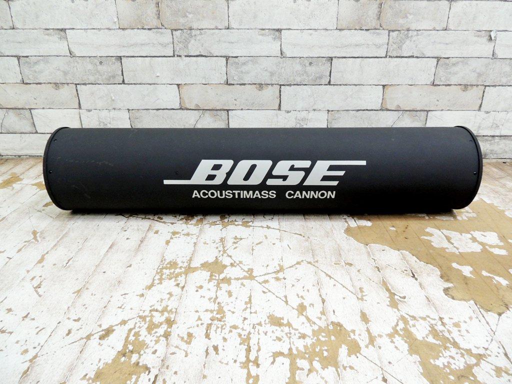 ボーズ BOSE AM-033 サブウーファー アクースティマス キャノン ACOUSTIMASS CANNON スピーカー オーディオ機器 B ●