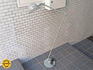 ハモサ HERMOSA トゥルク フロアランプ TURKU FLOOR LAMP L サックスグレー 可動式 照明 インダストリアル ■