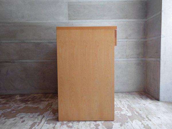 ウニコ unico トゥオ TUO キッチンカウンター  レンジボード アルダー材 広松木工 廃盤♪