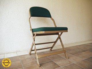 クラリン CLARIN フォールディングチェア 折り畳みチェア Folding chair フルクッション USA P.F.S取扱 定価\29,160- ◇
