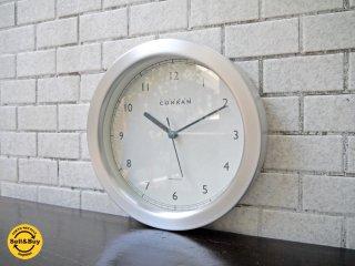 コンランショップ THE CONRAN SHOP テレンス・コンラン 英国製 ウォールクロック 壁掛け時計 アルミフレーム ■