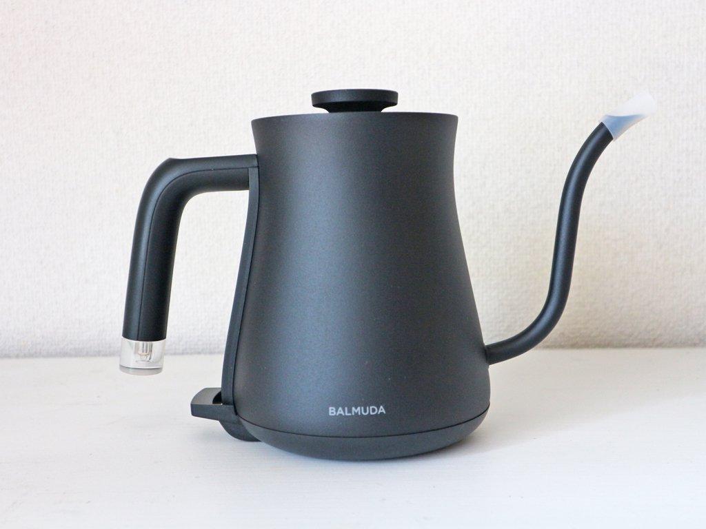 バルミューダ BALMUDA ザ ポット The Pot 電気ケトル 0.6L K02A-BK ブラック 新品 未使用 元箱付 ◎