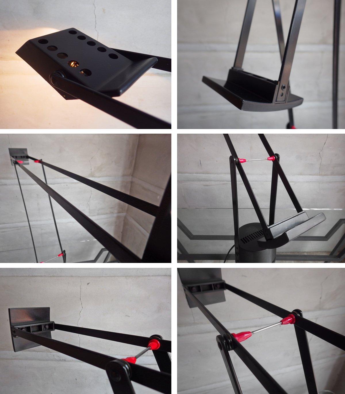 アルテミデ Artemide ティチオ TIZIO デスク スタンドライト ブラック リチャード・サパー デザイン ヤマギワ取扱い♪