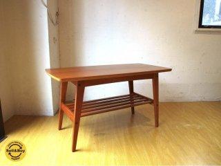 カリモク60 karimoku リビングテーブル 小 ブラックチェリー Special Edtion 幅90cm Sサイズ ミッドセンチュリー ★