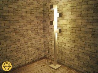 ディーシーエス・コープ アボーボ DCS CORP. ABOVO キューブ-LED CUBE-LED フロアライト L ホワイト 定価70,200円 ●