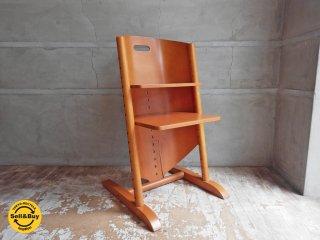 モイジ MOIZI モイジチェア1 ベビーチャイルドチェア子供椅子 ドイツ チェリー材 ♪
