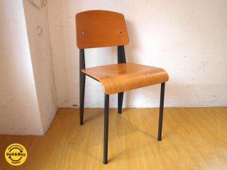 ヴィトラ Vitra スタンダードチェア Standard chair ビーチ材 ジャン・プルーヴェ B ★