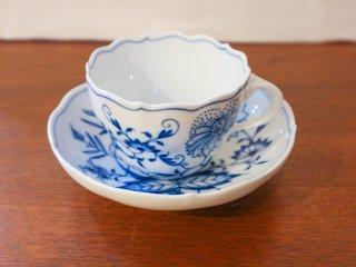 マイセン Meisen ブルーオニオン コーヒー&ティーカップ ◎