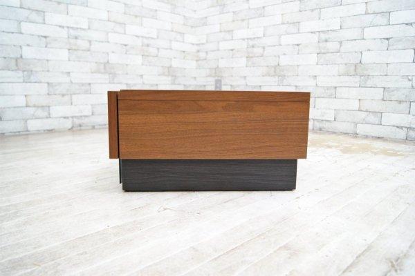 大川家具 AVボード ローボード ウォールナット材 w180cm モダンデザイン ●