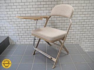 クラリン CLARIN フォールディングチェア With デスク フルクッション 折り畳み椅子 Folding chair フルクッション USA 米国 P.F.S 取扱 ■