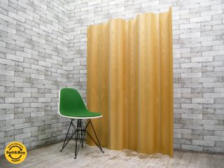 ハーマンミラー HermanMiller イームズ モールデッド プライウッド フォールディング スクリーン Eames Molded Plywood Folding Screen パーテーション ●