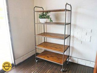 ジャーナルスタンダードファニチャー journal standard furniture ジェントカート GENT CART L キャビネット 棚 オープンシェルフ ◎