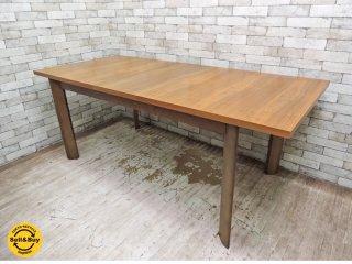 クラスティーナ Crastina ウォールナット EXダイニングテーブル 伸長式 W160〜200cm ●