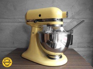 キッチンエイド Kitchen Aid スタンドミキサー KSM90 アーモンドクリーム♪