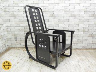 ヴィットマン Wittmann 座るための機械 sitz maschine ヨーゼフ・ホフマン Josef Hoffmann ブラック 定価¥573,149- ●