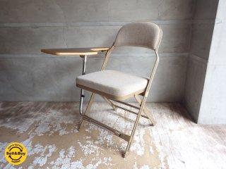 クラリン CLARIN フォールディングチェア With デスク フルクッション 折り畳み椅子 Folding chair フルクッション USA 米国 P.F.S 取扱♪
