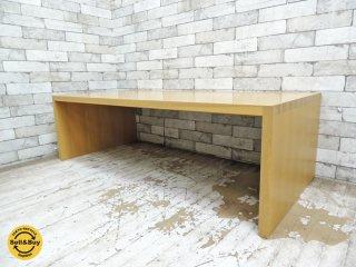 柏木工 KASHIWA オーク材 ローテーブル センターテーブル IDC大塚家具取扱い ●