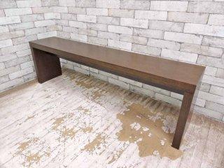 モーダエンカーサ moda en casa カフェベンチ cafe bench オーク材 ライトウェンジ W150 モダンデザイン ●