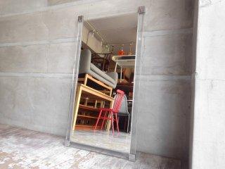 ビンテージ 壁掛け鏡 ウォールミラー アクリルフレーム  スペースエイジ ♪