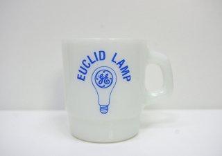 ファイヤーキング FIRE KING ゼネラル・エレクトリック GE EUCLID LAMP 広告プリント アドマグ 希少 D ●