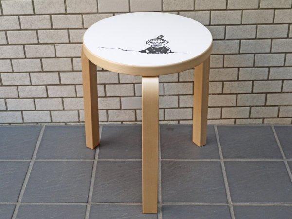 アルテック artek スツール60 stool60 3本脚 ムーミン リトルミィ 80th記念モデル アルヴァ・アアルト トーベ・ヤンソン 北欧家具 ■