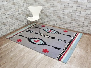 coyote rug & co. コヨーテラグ チマヨ柄 マット 絨毯 140×200 cm ●
