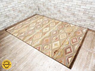 株式会社モリヨシ取扱 ベルギー産 大判ラグ マット 絨毯 159×228cm ●