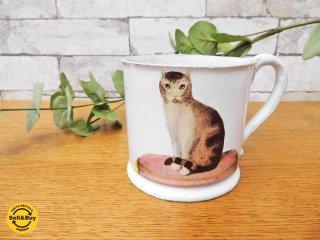 アスティエ・ド・ヴィラット ASTIER de VILLATTE ジョン・デリアン JOHN DERIAN 猫 CAT マグカップ ●