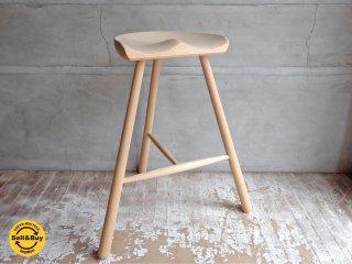 ワーナー Werner シューメーカーチェア Shoemaker Chair No.69 スツール ブナ材 デンマーク B♪