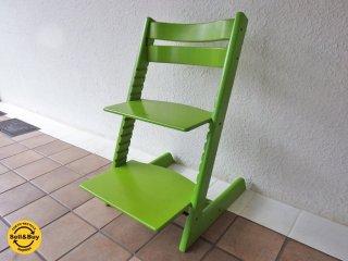 ストッケ STOKKE トリップトラップ TRIPP TRAPP ベビーチェア 新型 ナチュラル 木製ガード 革ベルト付き 北欧 ノルウェー ■