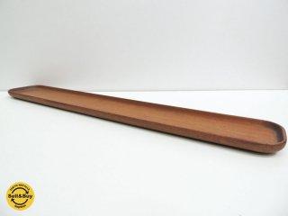 ディグスメド DIGSMED ロングトレイ チーク無垢材 58cm ●