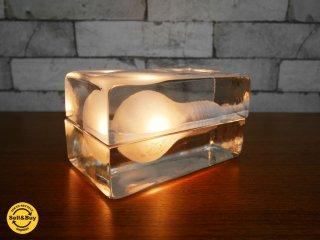 デザインハウス ストックホルム DESIGN HOUSE stockholm ブロックランプ BLOCK LAMP Lサイズ クリア ハッリ・コスキネン 箱付 ●