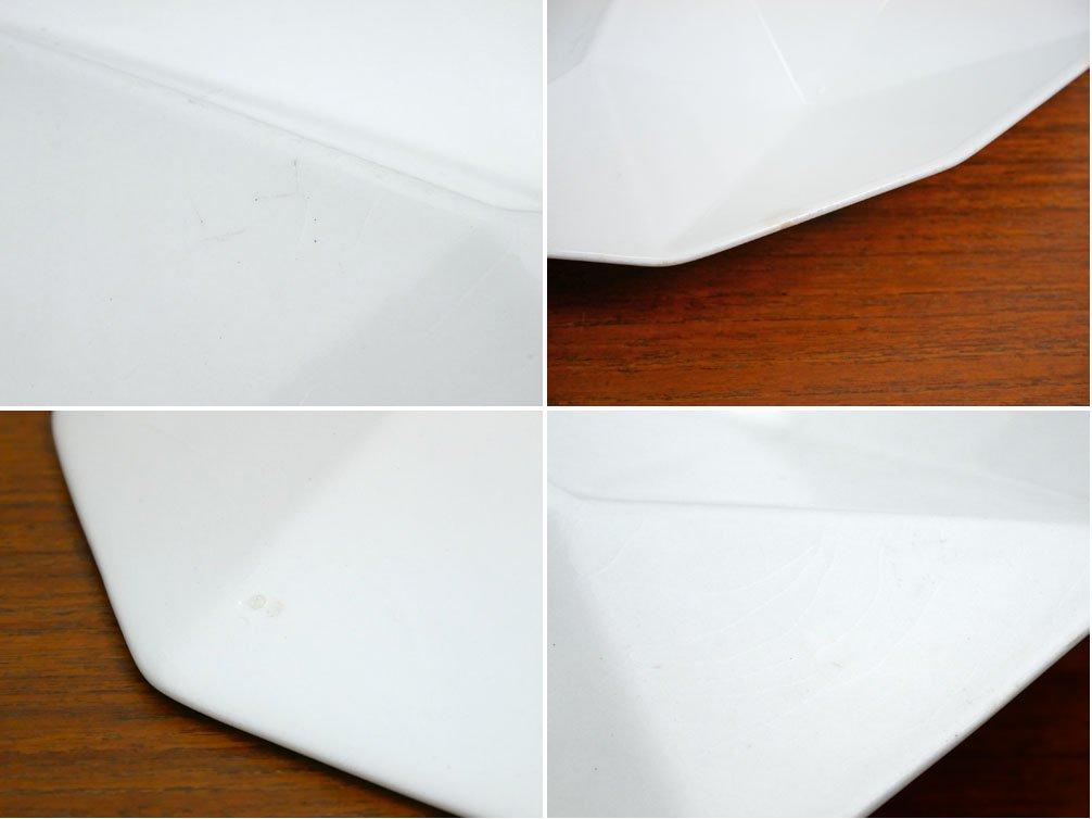アラビア ARABIA KF2 HORS D'OEUVRE DISH オードブルディッシュ カイ・フランク KAJ FRANCK 12角形 ホワイト ●