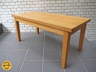 無印良品 MUJI ローテーブル タモ材 無垢材 ナチュラル シンプルデザイン ■