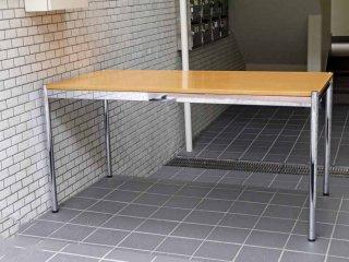 USMモジュラーファニチャー USMハラー テーブル USM Haller Table ワーキングテーブル ダイニングテーブル  デスク ビーチ材 ナチュラル天板 ■