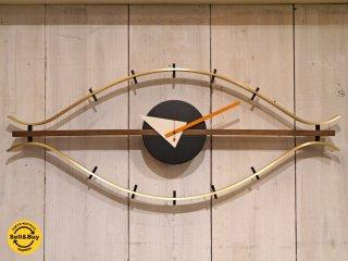 ヴィトラ Vitra ジョージネルソン George Nelson アイクロック Eye Clock 壁掛け時計 ウォールクロック ミッドセンチュリー ■
