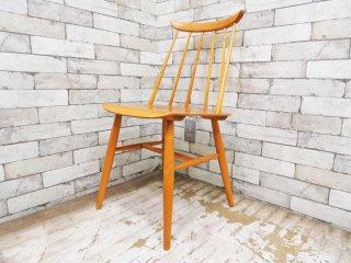 アスコ ASKO ファネットチェア Fanett Chair イルマリ・タピオヴァーラ Ilmari Tapiovaara フィンランド 北欧ビンテージ ●